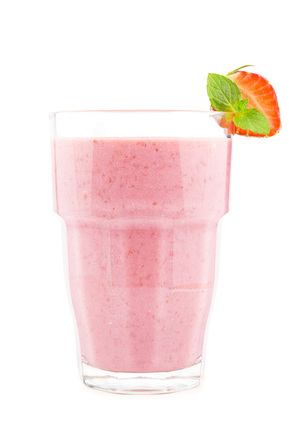 Strawberry Chia Protein Smoothie
