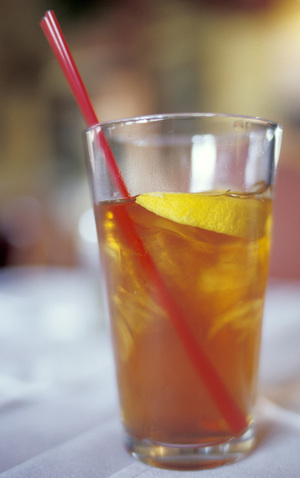 Sugar Free Lemon Thyme Iced Tea