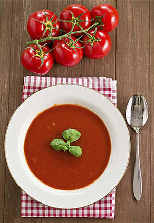 Light and Creamy Tomato Soup