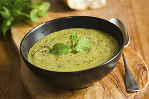 Simple Spring Pea Soup