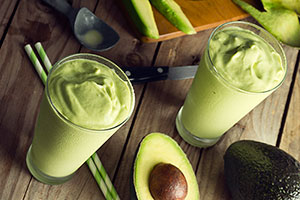 Avocado Tofu Smoothie